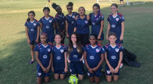 5a63c2710 COAST SOCCER LEAGUE 2018 Standings for GIRLS UNDER 12 Silver South
